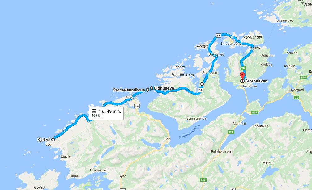 Atlantic Road - Road trip Norway