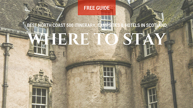 North Coast 500 Places to stay
