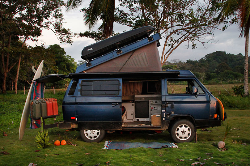 Traveling the world with a van