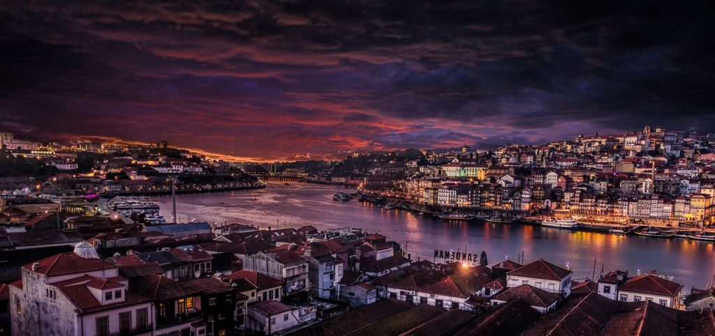 Road trip in Portugal Porto