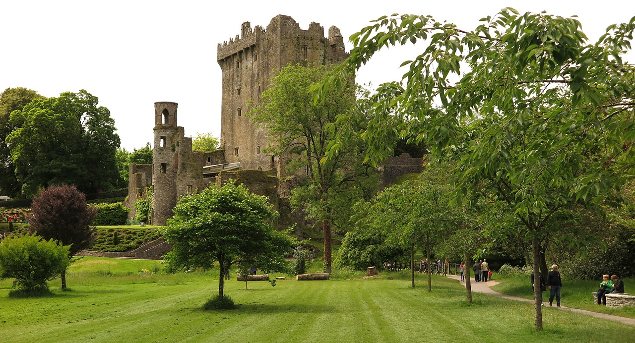 road trip in ireland blarney castle