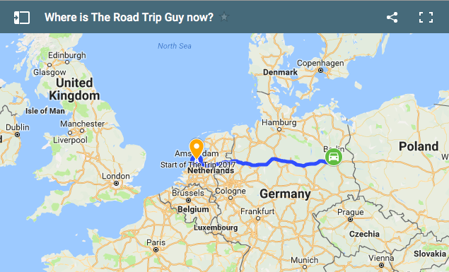 Where is the Road Trip Guy now?