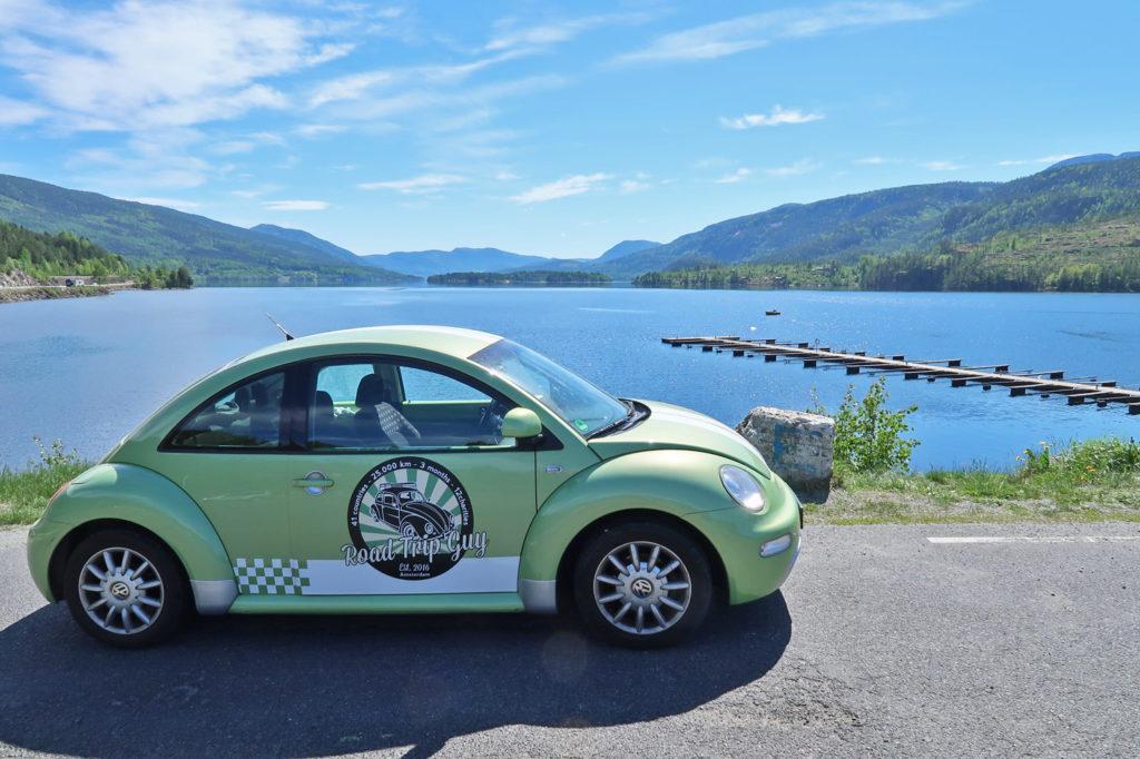 autorondreis noorwegen road trip in noorwegen