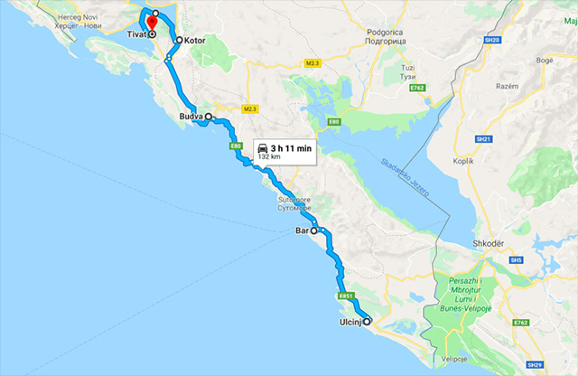road trip montenegro itinerary