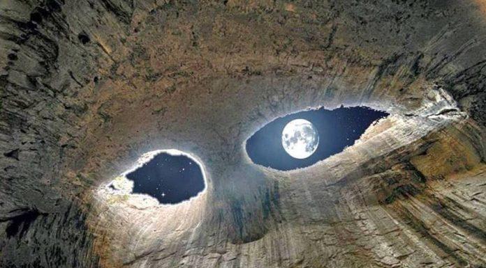 Eyes of God (Prohodna) Cave