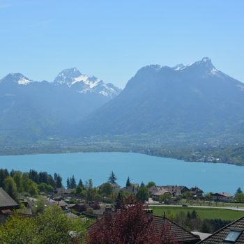 Road trip guide for France Lake Annecy