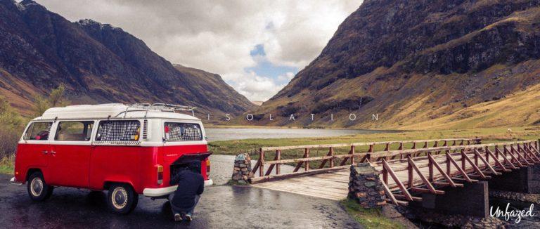 Short road trip film: Isolation