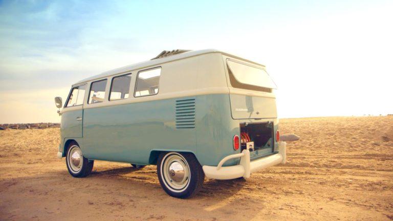 Zelectric makes vintage Volkswagen T1 Van into an electric car