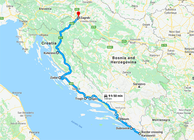 Road Trip in Croatia