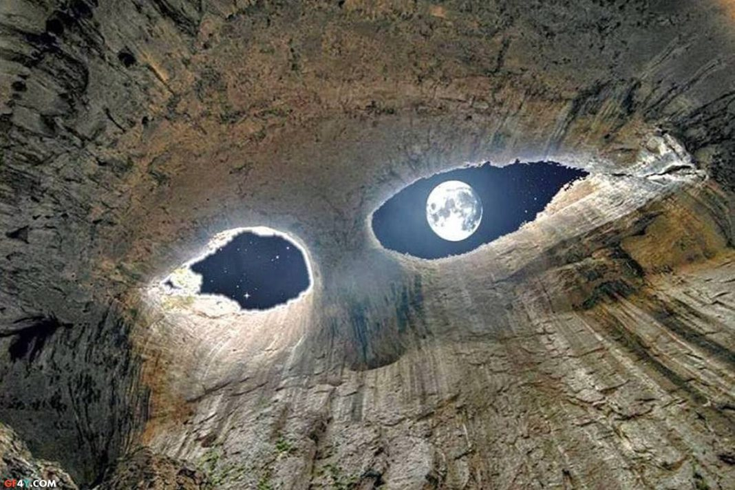 Eyes of God (Prohodna) Cave