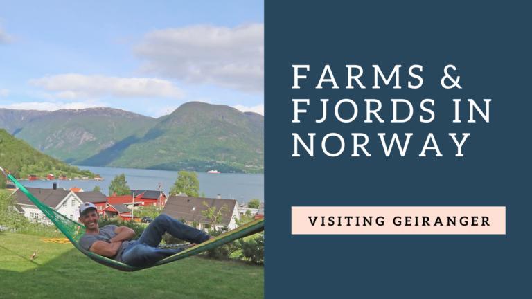 Vlog 7 : Farms & Fjords – Visit Geiranger Fjords