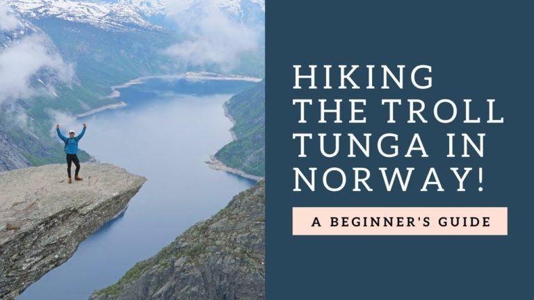 Vlog  6: How to hike Trolltunga in Norway