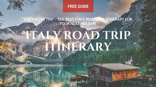 italy road trip the best italian road trip itinerary for your next