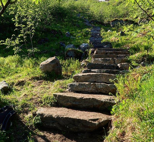 hiking reinebringen