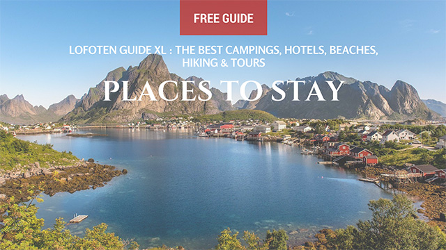 places to stay in the lofoten reinebringen