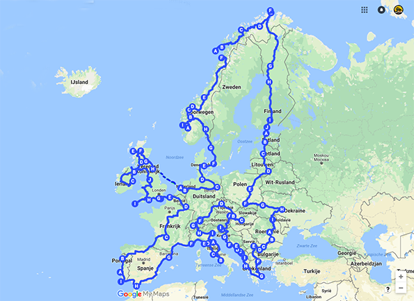 Create Book Your Dream Road Trip In Europe The Road Trip Guy